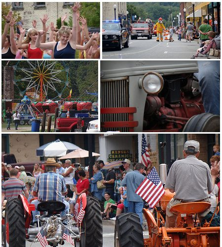 Labor Day Weekend – Parade, Events, Rides, Music, Crafts, Food and Dancing in Canton NC