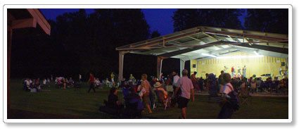 Pickin' in the Park – Traditional Mountain Music and Square Dancing in Canton NC