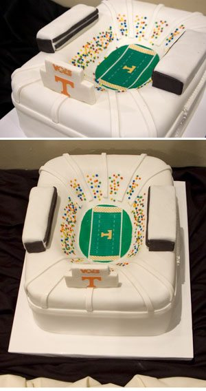 Groom's Cake – Football Stadium