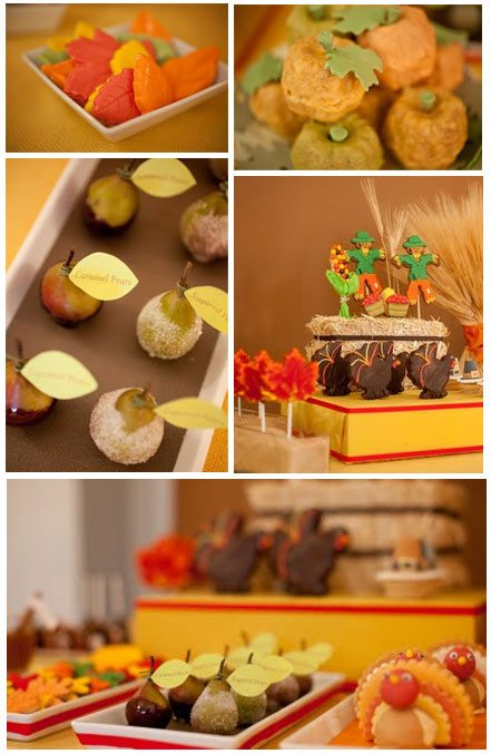 Fall Dessert Bars and Petit Fours