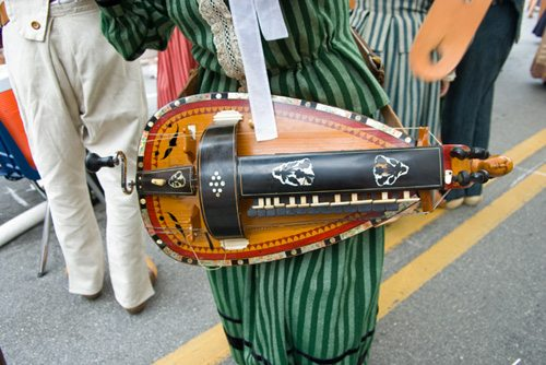 Trivia:  If you are a hurdy gurdyist.  What are you?
