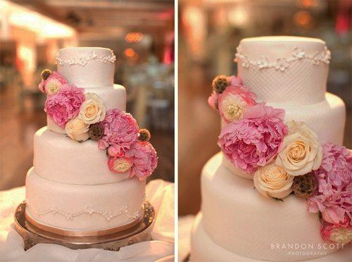 Wedding Cake at Fontana Village at Fontana Dam NC