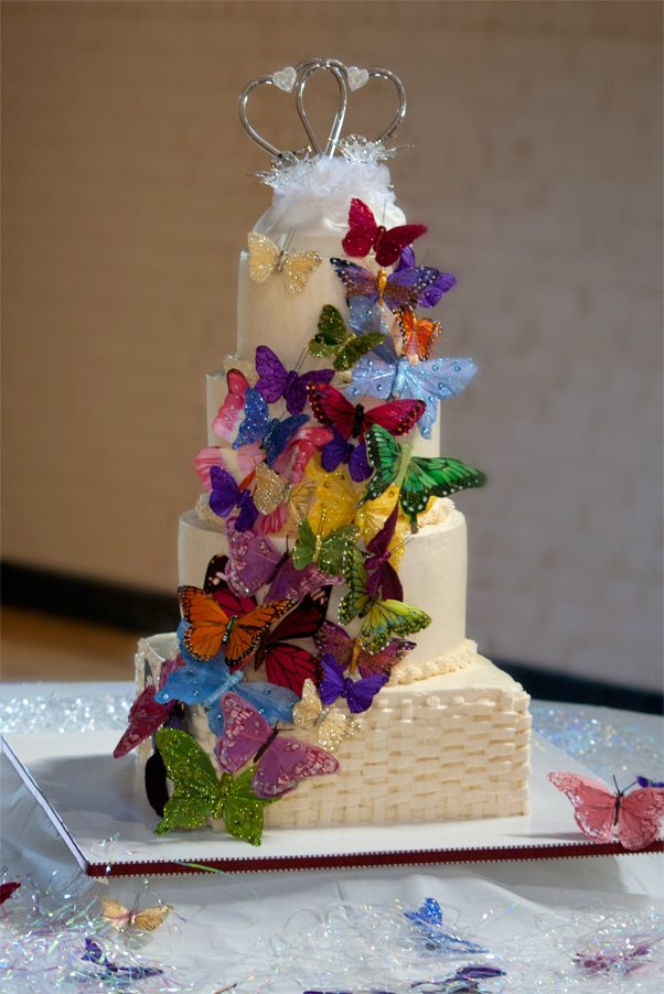 Buttercream Wedding Cakes That Inspire