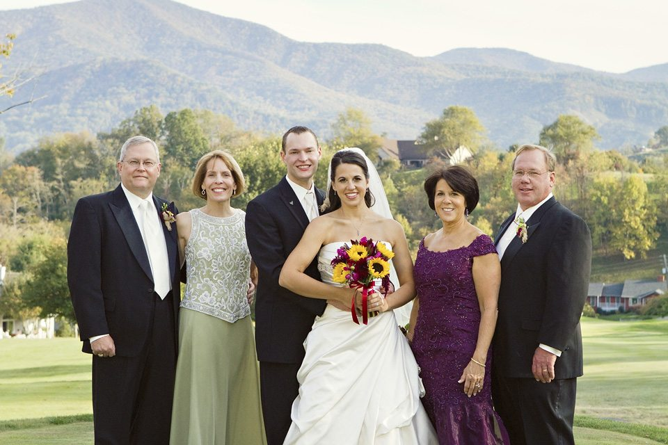 Wedding Waynesville NC photo by Sarah Rominger
