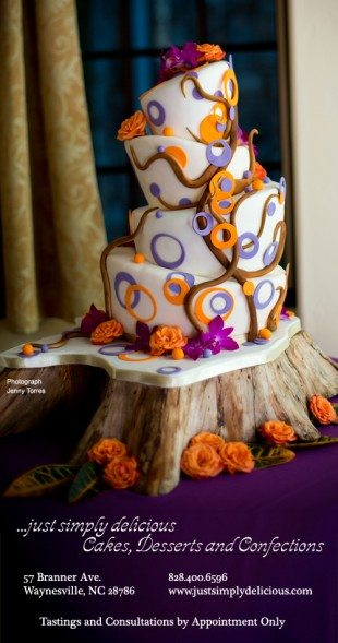 Cake Gallery for Just Simply Delicious in Waynesville, NC