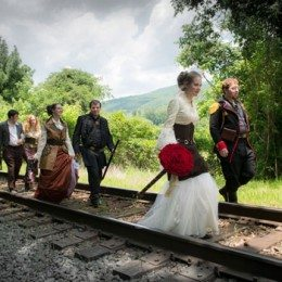 A Steampunk Wedding at the Mountain Magnolia Inn – Hot Springs, NC