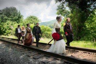 A Steampunk Wedding at the Mountain Magnolia Inn – Hot Springs, NC