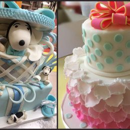 Baby Shower and Gender Reveal Cakes in Waynesville NC.  Serving the greater Asheville area.