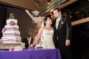 A stunning wedding at the Crest Center in Asheville NC
