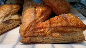 Guava and Cream cheese puff pastry