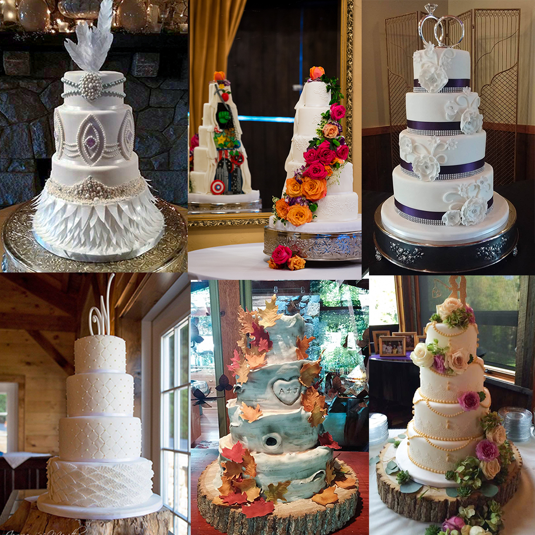 Wedding Cakes Sylva Nc