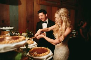 Pie Weddings are here to stay!