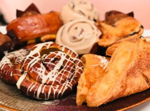 breakfast pastry tray gift