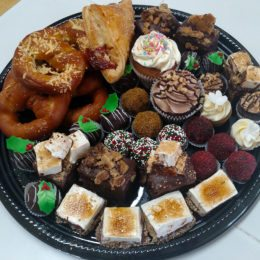 Assorted Dessert Tray for the Holidays