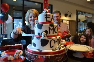 Chick-Fil-A one year anniversary party in Waynesville, NC
