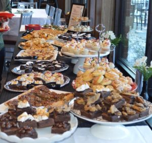 Another one of our dessert bars. This one for the employees of our local Chick-Fil-A