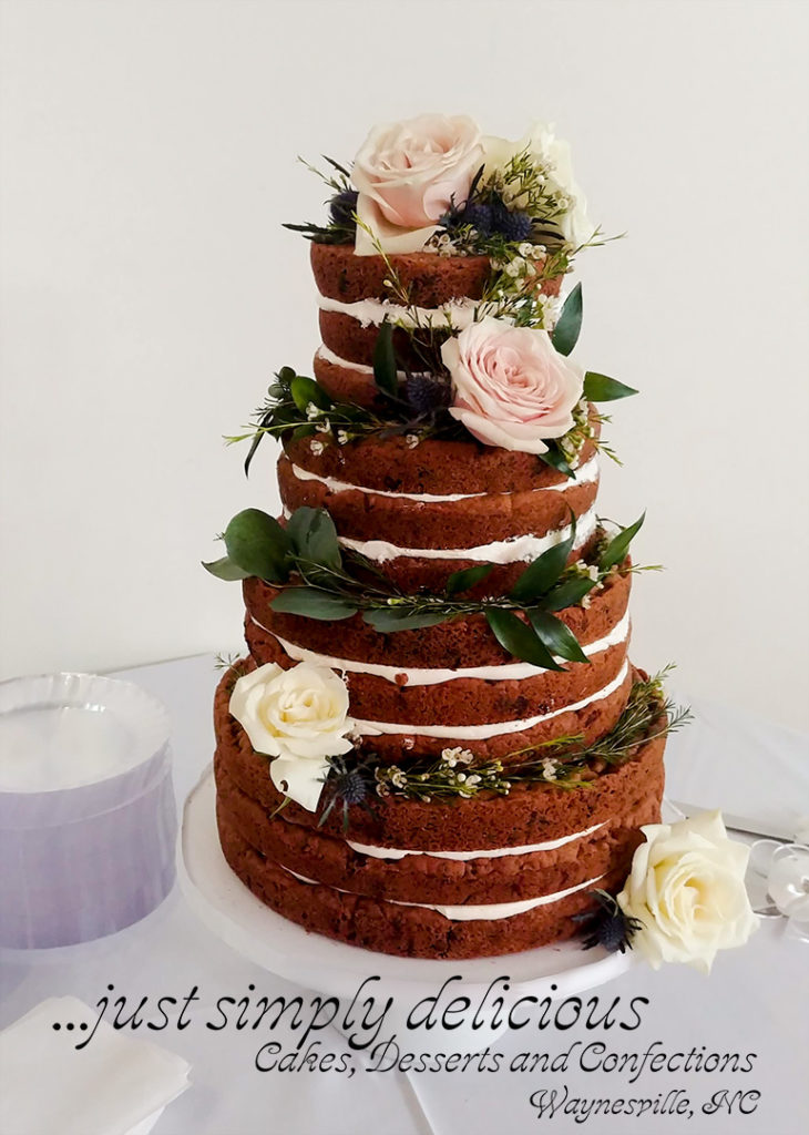 A Chocolate Chip Cookie Wedding Cake Asheville Weddings